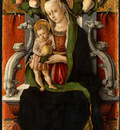 CRIVELLI MADONNA AND CHILD ENTHRONED WITH DONOR, C  1470, NG