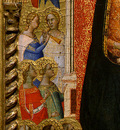 daddi madonna and child with saints and angels, 1330s, det