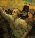Daumier The uprising, ca 1860, 87 6x113 cm, The Phillips Col