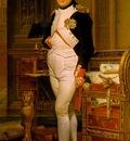 David,J  L  Napoleon in His Study, 1812, NG Washington