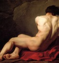 David Jacques Louis Male Nude known as Patroclus