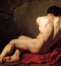 David Jacques Louis Male Nude known as Patroclus