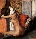 Degas After the Bath, Woman Drying Her Nape, 1895 c