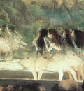 Degas Ballet at the Paris Opera, 1877 78, pastel over monot