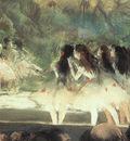 Degas Ballet at the Paris Opera, 1877 78, pastel over monot