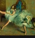 Degas Before the Ballet, 1890 1892, detalj 3, NG Washington