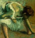 Degas Before the Ballet, 1890 1892, detalj 5, NG Washington