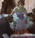 Degas Before the Entrance on Stage, 1880 c