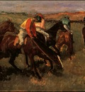 Degas Before the Race, 1882 c