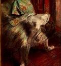 Degas Dancer in Green Tutu, 1880 85 c