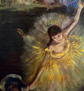 Degas Edgar Dancer bowing Sun