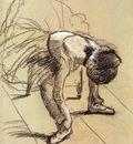 Degas Edgar Seated Dancer Adjusting Her Shoes
