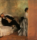 Degas Mr and Mrs Manet ca 1868, Municipal Museum of Art, Kit