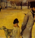 Degas Place de la Concorde, 1875, 78 4 x 117 5 cm, Eremitage
