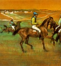 Degas Race horses, 1885 88, Pastel on panel, Philadelphia Mu