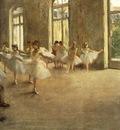 Degas The rehearsal, ca 1873 78, 41x61 7 cm, Fogg Art Museum