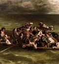 DELACROIX Eugene Shipwreck of Don Juan