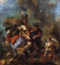 DELACROIX Eugene The Abduction of Rebecca