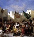 DELACROIX Eugene The Fanatics of Tangier