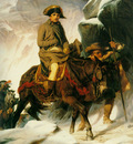 napolean crossing the alps