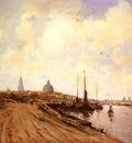 Delfgaauw Gerardus Jacobus View of Rotterdam