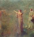 dewing the garland