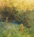 dewing the white birch 1896