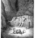 Dante 120 Transformation into Snakes sqs