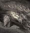 Dore Gustave 16 Love brought us to one death Caina waits the soul who spilt our life