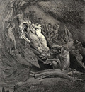 dore gustave 18 i through compassion fainting seem d not far from death and like a corpse fell to the ground canto