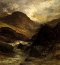 Dore Gustave Gorge In The Mountains