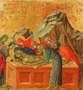 Duccio Burial of Christ, Museo dellOpera del Duomo, Siena