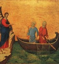 duccio the calling of the apostles peter and andrew, 1308