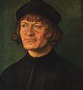 DURER PORTRAIT OF A CLERGYMAN,1516, GALERIE GRAF CZERNIN,WIE