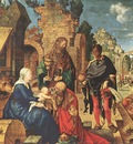 DURER ADORATION OF THE MAGI,1504, UFFIZI