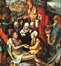 DURER LAMENTATION OVER THE DEAD CHRIST,1500, ALTE PINAKOTHEK