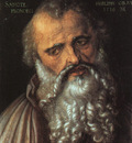 DURER SAINT PHILIP THE APOSTLE,1516, UFFIZI