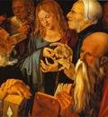Albrecht Durer Christ among the Doctors
