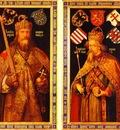 Albrecht Durer Emperor Charlemagne and Emperor Sigismund