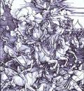 Albrecht Durer The Four Horsemen of the Apocalypse
