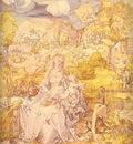 Albrecht Durer The Virgin among a Multitude of Animals