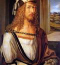 Durer Albrecht Self portrait Sun