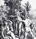 Durer Hercules At The Crossroads Complete