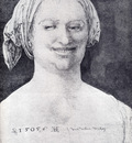durer laughing peasant woman