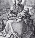 Durer Madonna With The Swaddled Infant