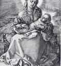 Durer Madonna With The Swaddled Infant