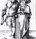 Durer The Cook And His Wife