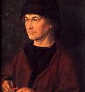 Portrait of Albrecht Durer the Elder