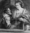 Dyck van Anthonie Titiaan and his mistress Sun