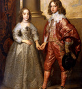 Dyck van Anthonie Willem II and Maria Stuart Sun